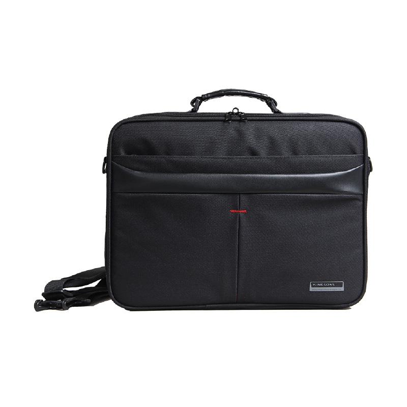 Kingsons Corporate Series 15-6 Shoulder Bag - Black