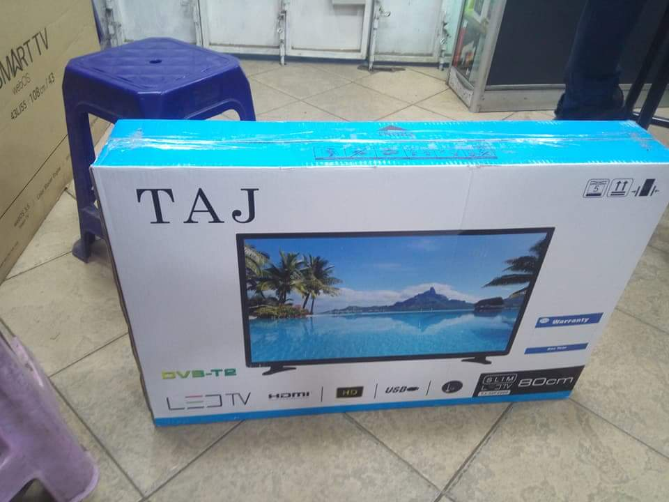32 inch Taj digital TV with free wall brackets