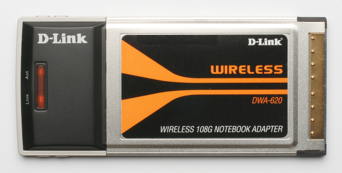 D-Link DWA-620 Wireless 108 G Notebook Adapter PCMCIA Card