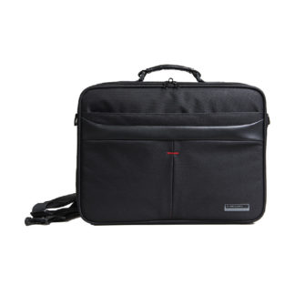 Kingsons Corporate Series 15-6 Shoulder Bag - Black