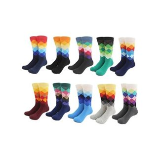 Men Long Socks Color