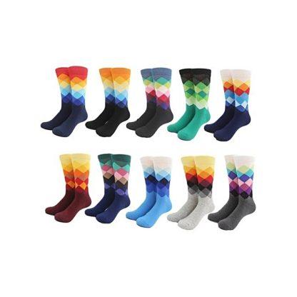 Men Long Socks Color